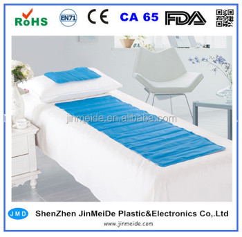 single bed cooling gel mat / cool gel mattress padfor home goods