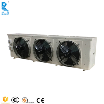 Cold Room Fan Motor Evaporator Coil For Freezer With Steel Plate ...
