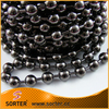 8mm gunmetal metal ball chain door curtain for partition