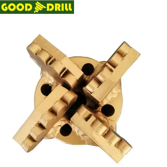 High quality Hard Rock PDC Drill Bit/ Diamond drill bit for water well drilling