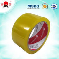 waterproof colorful bopp self adhesive tape for package China oem