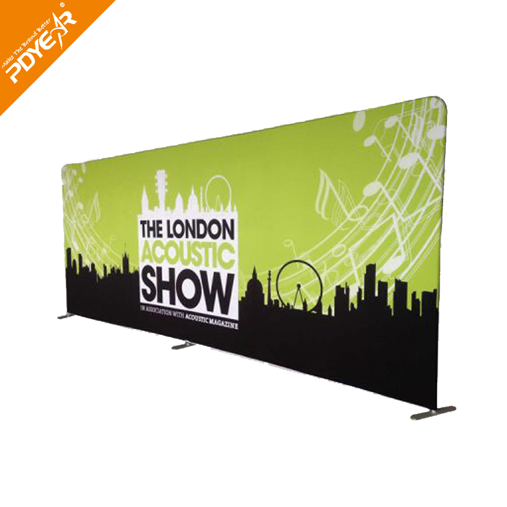 Portable tension fabric display stand wedding backdrop stand