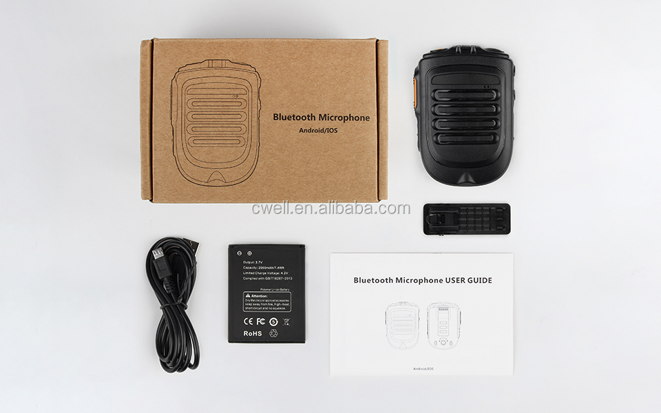 2019 New Arrival POC SOS Zello PTT Walkie Talkie Apps Microphone