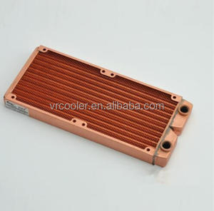 Widely use full copper pc water cooling radiator