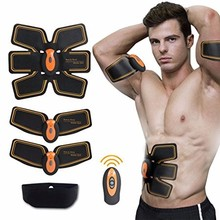Wireless Smart EMS TENS Abdominal Training Device Intensive Body Sculpting Shaper Loss Slimming Massager Abdominal Muscle Toner