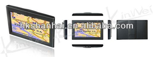 5 Inch GPS navigation Built-in Bluetooth module and antenna with 64MB DDRII SDRAM ROM and 64MB to 2GB NAND KW-GM5001
