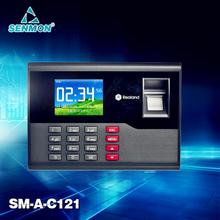 TCP/IP Fingerprint Time attendance TFT Time Recorder Clock System A-C121