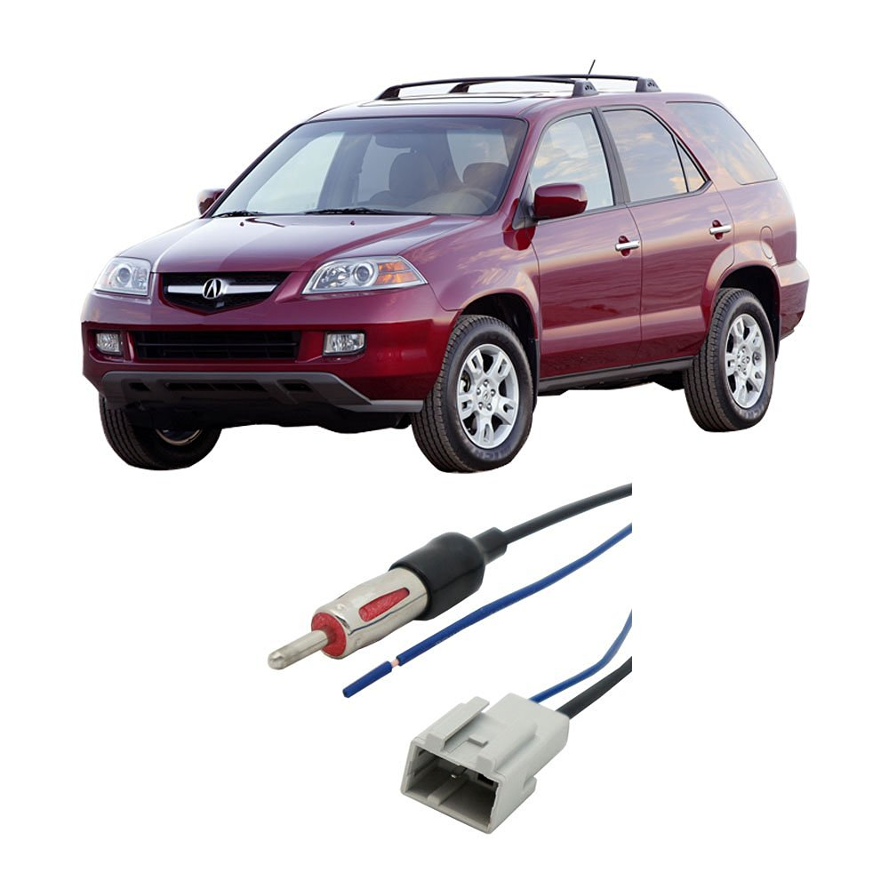 Get Quotations · Acura MDX 2005-2006 Factory Stereo to Aftermarket Radio  Antenna Adapter