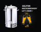 Home Brewing Equipment Beer 40Liter/Guten brew 40/ Micro brewery factory price/ Beer Brewing Electric Equipment BM-S400M-1