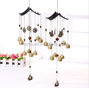 Best Sale Brass Wind Chimes Door Wall Hanging Home Dec, chilin wind chime