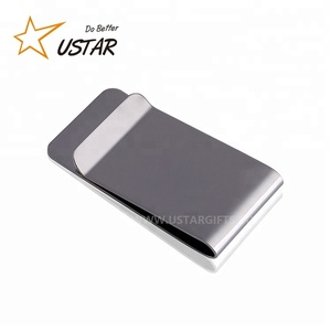 Cheap Custom Stainless Steel Golf Money Clip Wholesale Silver Metal Money Clip