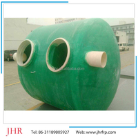 FRP septic tank for sewer