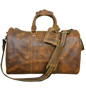 Crazy Horse Pull Up Leather making bags
