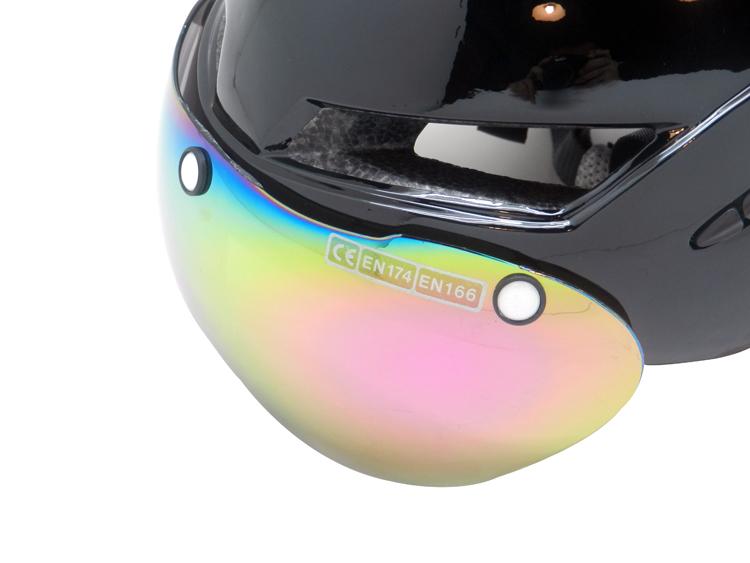 New Design TT Time Trial Helmet AU-T02 Full Cover Cycle Helmet 11