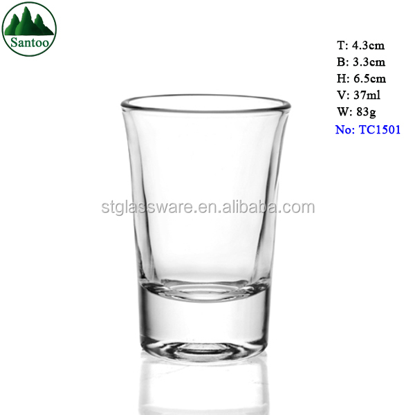 37ml Measuring Clear Shot Glasses