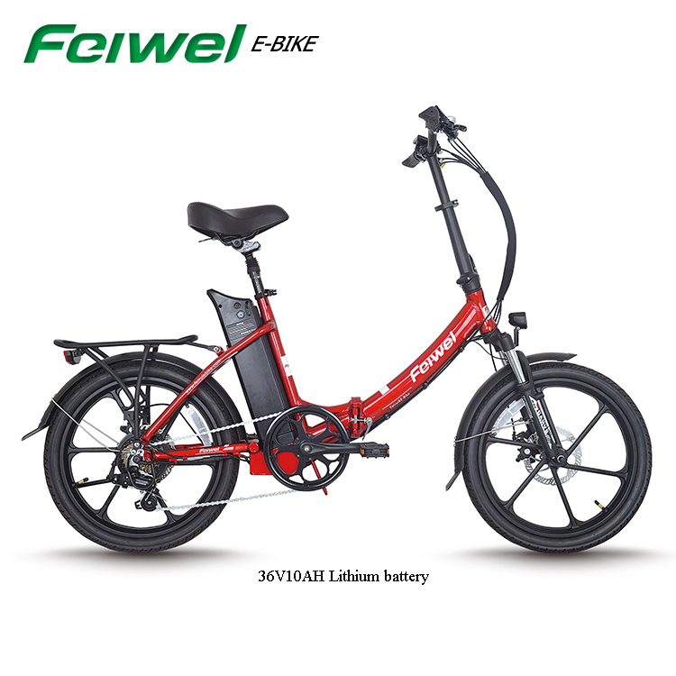 2018 Alibaba Wholesale 36V10AH Lithium battery with new battery case in USB plug Japan Folding Bicycle