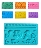PVC and BPA Free Target audited supplier Factory directly sale silicone mold for fondant