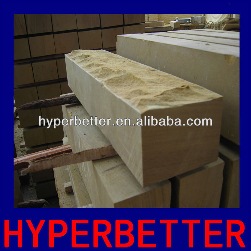 Yellow sandstone products