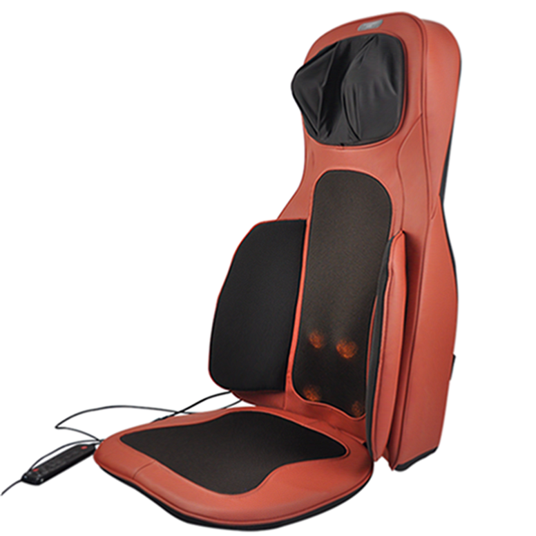 Mulit Function Seat Chair Electric Infrared Full Body Shiatsu Massage Cushion