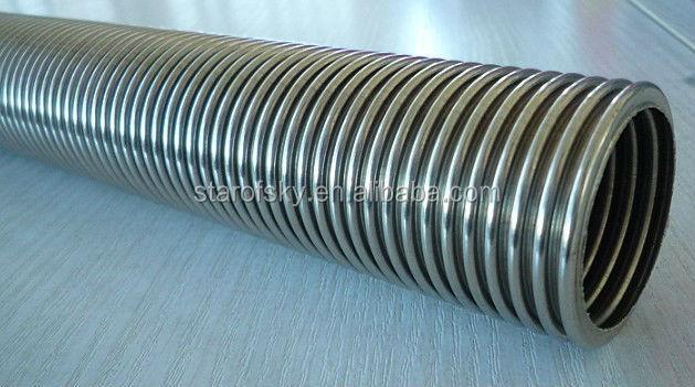 Aisi304 316l flessibile in acciaio inox tubo flessibile for Tubo in pvc per acqua calda