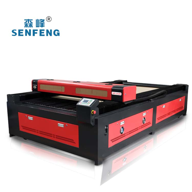 2017 Factory Hot sale SENFENG acrylic/fabric/rubber/wood non-metal laser cutting machine SF-1326 130W 150W