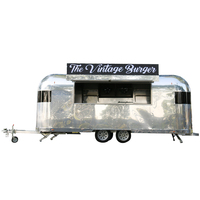 FV-52 food trailer fv58 hot mobile machine food deli food display case