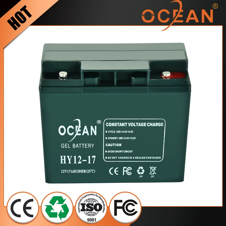 Great power safe 12V small 17ah OPZS battery