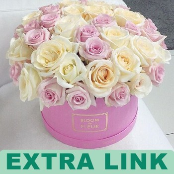 Luxury Paper Flower Box Round Packaging Box For Flowers Buy