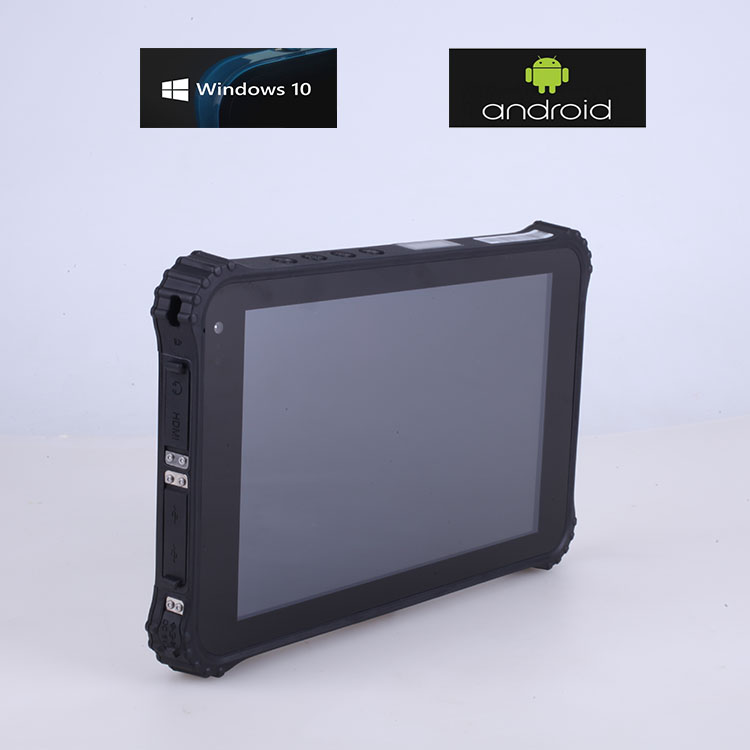 2017 Rugged Android Tablet PC with Barcode Scanner 4G lte 32GB/64GB/128GB EMMC HDMI Input Sunlight Visible