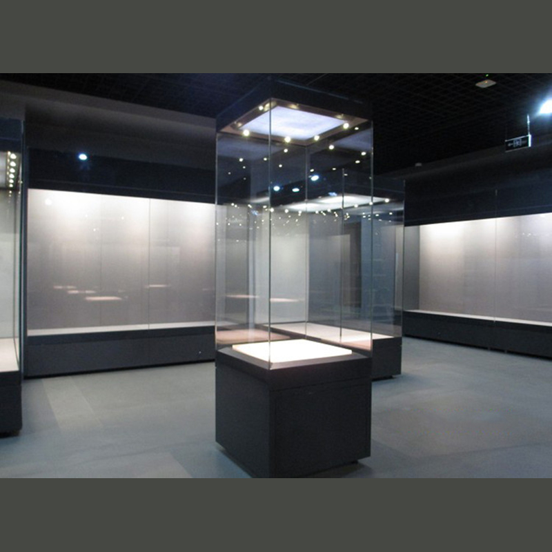 Museum Display Showcase Glass Antique Display Case With
