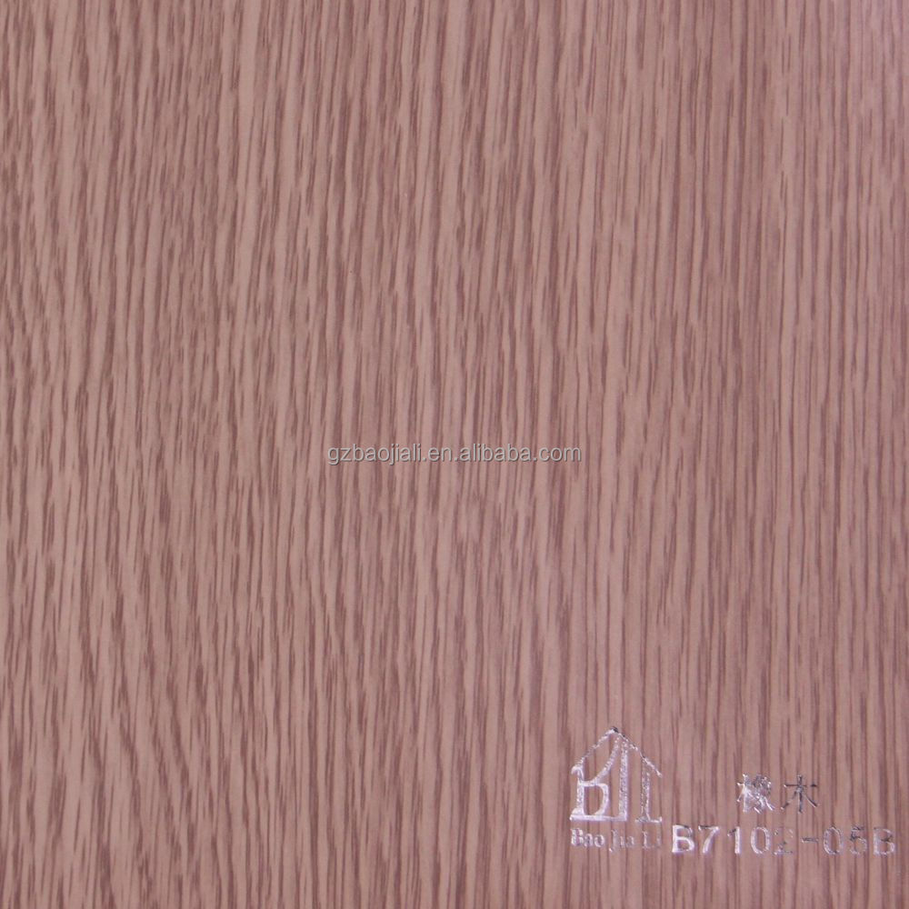 Factory direct sales customized melamine paper on wood furniture