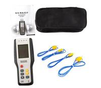 Four Channel Temperature Data Logger Thermocouple Thermometer, Data Logging Max Hold and Data Hold Recoder