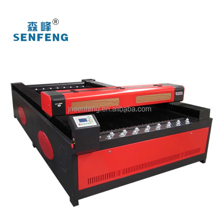 SENFENG hot sale flatbed paper laser cutter 1326 laser cutting machine senfeng laser cut flatbed