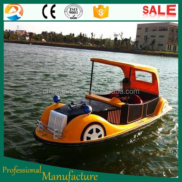 diseño perfecto 4 asientos pedal agua barco/fibra de vidrio barcos