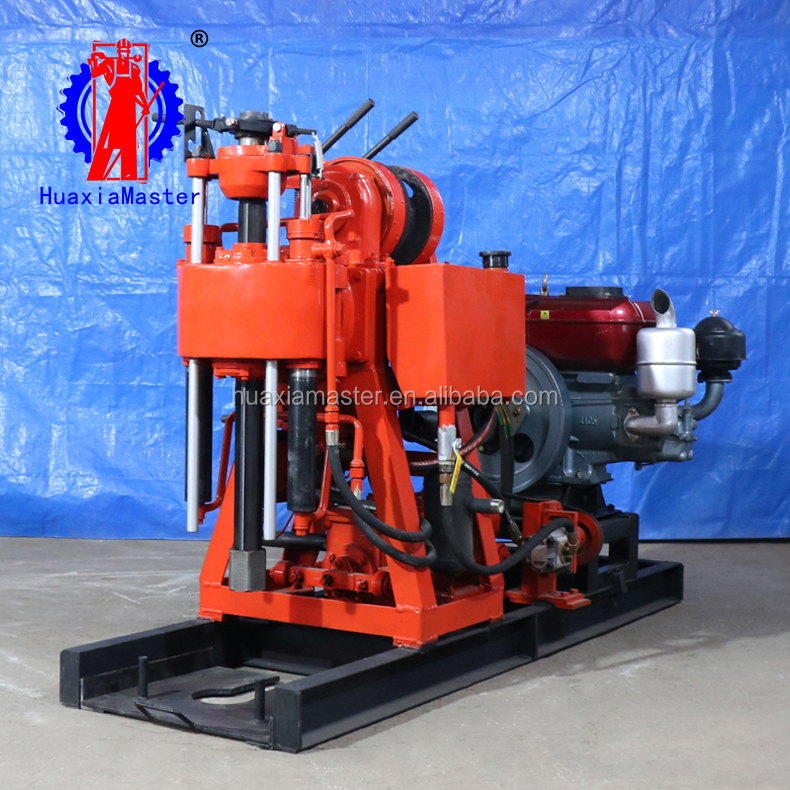 with diesel engine/electric motor / XY-100 hydraulic core drilling rig