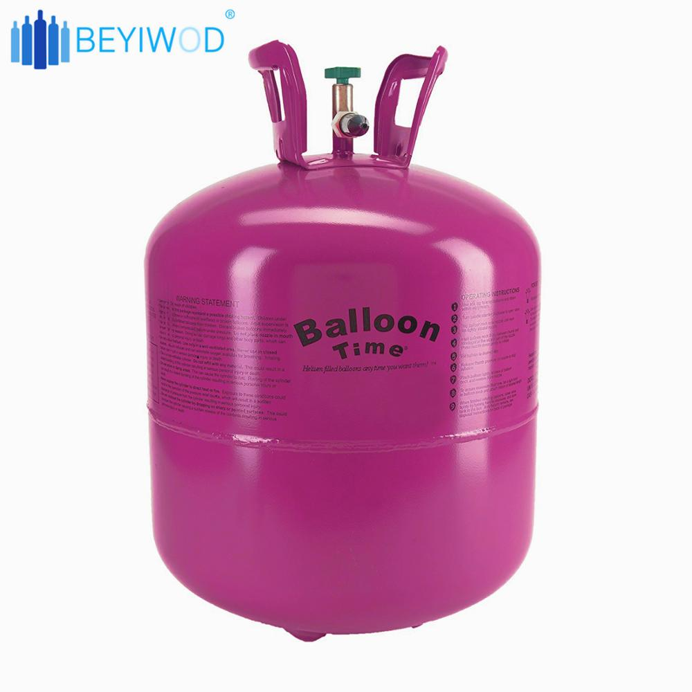 Disposable refill 99 999% 50P helium balloon gas cylinder gas tank