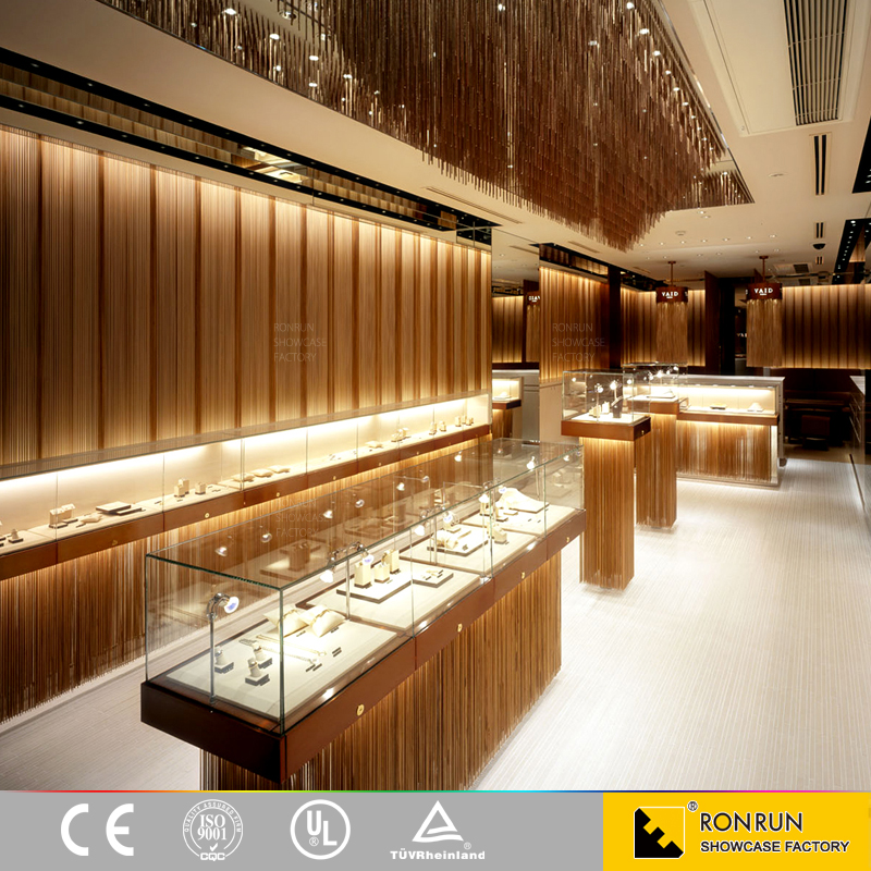 Modern Style Jewellery Showroom Furniture Interior Design