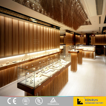 Modern Style Jewellery Showroom Furniture Jewellery Showroom