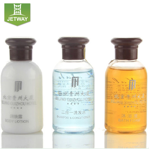Jade Products / Jade shampoo bottles / Special packing of liquids for hotel use