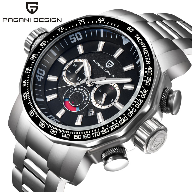 PAGANI 2703 High Quality Japan Movement Brand Luxury Large Dial Wristwatch For <strong>Men</strong>