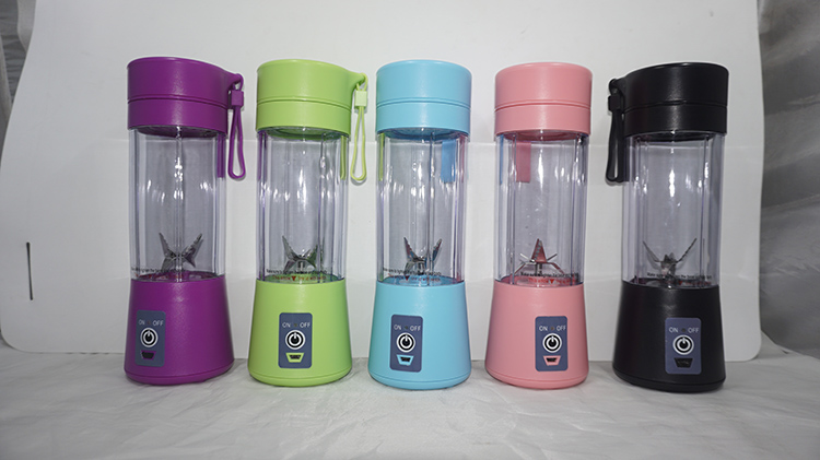 Wholesale Pisau Juicer Cup USB Recharge 380 Ml Portable Juicer Blender Piala