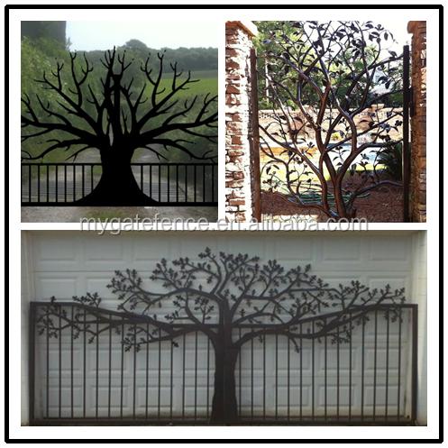 Australia Hot Sell Cheap Garden Modern Laser Cut Gate Design Philippines,  Wrought Iron House Main