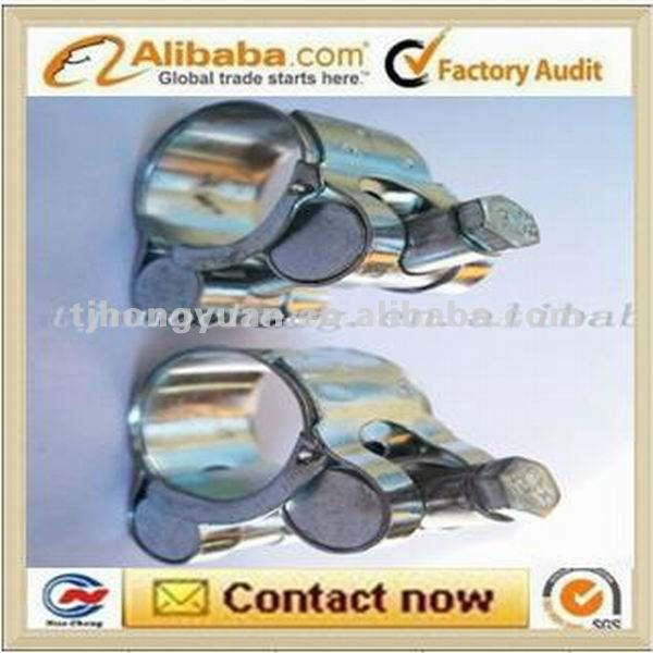carbon steel unitary hose clip/clamp
