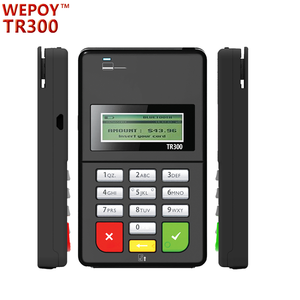 bluetooth emv swipe card reader with pin pad