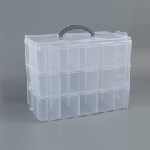 Top selling superior quality three layers eco-friendly plastic storage box