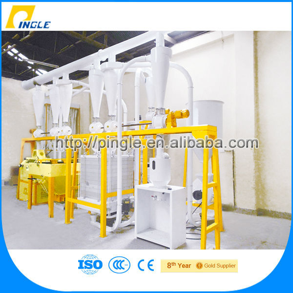 Rice Milling Machine/Flour Mill Complete Flour Mill