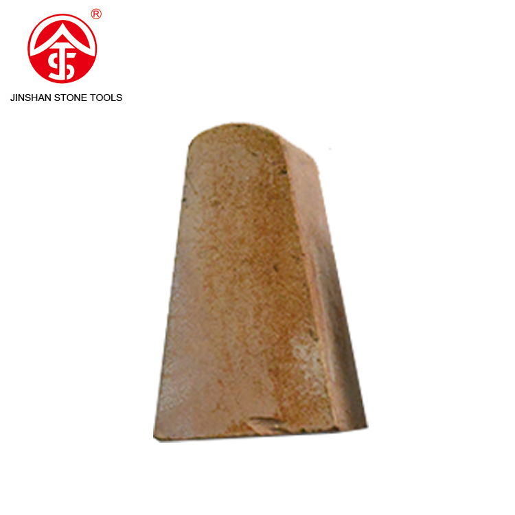 Quick supplying Long life natural stone Triangle abrasive