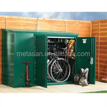 Garden Metal Shed Motorbike Garage Secure Bike Storage