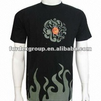 100% Cotton Promotional T-shirt, Customized Designs are Welcome, Good Idea for Promotional Gifts