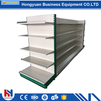A wide variety merchandising units mesh wire display